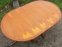 Yew Extending Dining Table Seat Ten